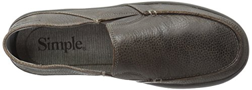 Simple Men's Dare-P Slip-on Loafer Dark Brown Leather order sale online free shipping popular 2CzQqrGPg
