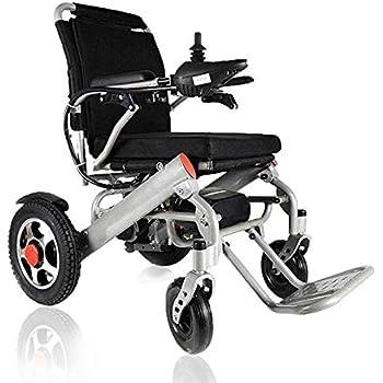 Amazon.com: Silla de rueda de ayuda plegable y compacta ...