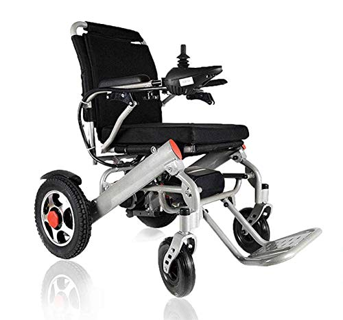 Lightweight Wheelchairs for Adults, Electric Folding Carry Power Chair Silla de Ruedas Electrica para...
