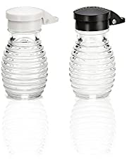 Shake It Free Shaker Glass Moisture Proof Humidity Free Salt, Pepper and Spice Shakers by Tumbler Home