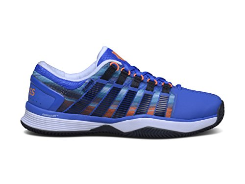 K-SWISS HYPERCOURT HB ETC BLUE/GRAPHIC PRNT 7,5