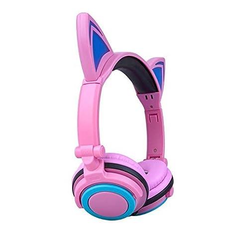 Amazon.com: Audífonos para niños con orejas de ...