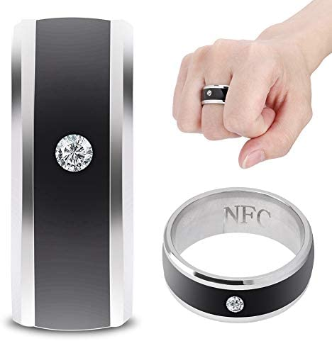 6in NFC Multi-Function Smart Rings Magic Wearable Device Universal for Mobile Phone Connecte to The Mobile Phone Function Operation and Sharing of Data 416ctwQBF2L