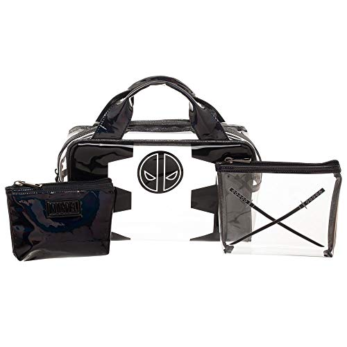 Deadpool Bags Marvel Makeup Bags Deadpool Accessories Marvel Travel Bags]()