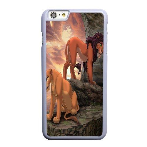 Coque,Coque iphone 6 6S 4.7 pouce Case Coque, The Lion King Cover For Coque iphone 6 6S 4.7 pouce Cell Phone Case Cover blanc