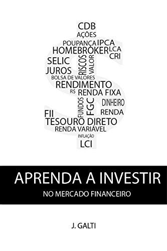 eBook Aprenda a investir no mercado financeiro