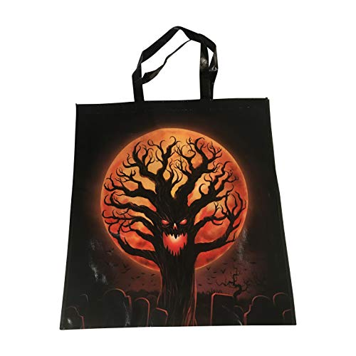 Extra Large Halloween Trick or Treat Candy Bag Reusable Grocery Tote