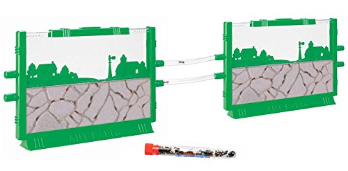 Live 2 Connectable Ant Farms Shipped with 25 Live Ants Now (1 Tube of Ants) Gift for Kids, Farm by Uncle Milton