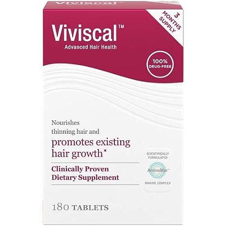 Viviscal, Producto para la caída del cabello - 180 Capsulas: Amazon.es: Salud y cuidado personal