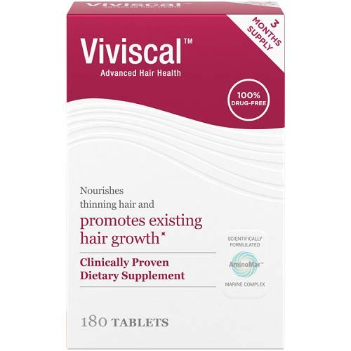 Viviscal Extra Strength Hair Nutrient Tablets, 180-Tablets (Packaging May Vary) by Viviscal (Image #7)