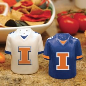 Illinois Gameday Salt and Pepper Shaker