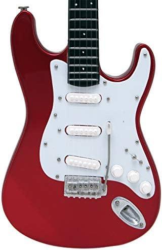 [해외]미니츄어 악기 기타 ST-STD 캔디 애플 레드 / Miniature Instrument Guitar ST-STD Candy Apple Red