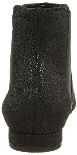 Elle Mabilon - Botines Chelsea Mujer Negro (noir brillant)