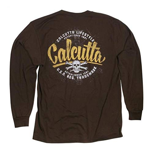 - Calcutta Old Skool, Long Sleeve T-Shirt Vintage Navy, X-Large