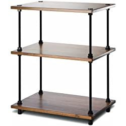 Salamander Designs A3/W Archetype 3-Shelf Audio Stand (Walnut)