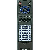Replacement Remote for GPX TDE1384B, TDE3274B, TDE3274BP, TDE4074BU, TDE4074R, TDE4074W, TDE5074B