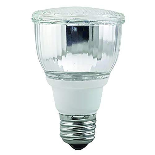 Luxrite LR20130 10W PAR20 CFL Light Bulb, Warm White 2700K, Flood Light Bulb, E26 Medium Base, 1-Pack