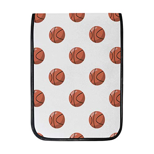 12 Inch Ipad IPad Pro Laptop Sleeve Canvas Notebook Tablet Pouch Cover for Homeschool, Travel, Etc Kids Basketball Hoop