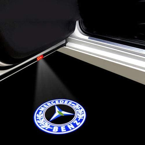 Mmyunx Coche LED Puerta Logo proyector láser Luces de Bienvenida ...