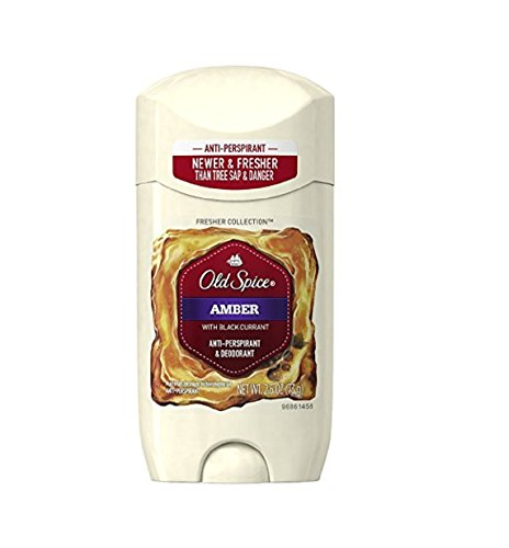 fresher collection amber anti perspirant