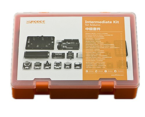 Intermediate Kit For Arduino V2/This Kit Will Guide You Through The World Of Microcontrollers And Physical Computing/A Set Of Exquisite Electronic Arts And Crafts by D&F