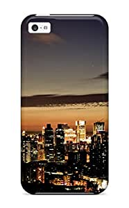 New Snap-on MacMillanWallacee Skin Case Cover Compatible With Iphone 5c- Taipei Skyline