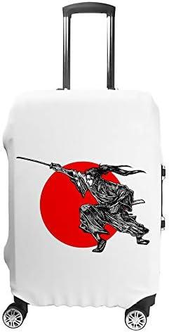 スーツケースカバー トラベルケース 荷物カバー 弾性素材 傷を防ぐ ほこりや汚れを防ぐ 個性 出張 男性と女性忍者