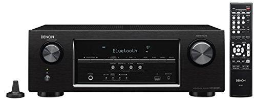 Denon AVRS510BT-R Refurbished 5.2 Channel Full 4K Ultra HD AV Receiver with Bluetooth(Black)