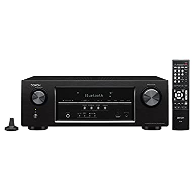 Denon AVRS510BT-R Refurbished 5.2 Channel Full 4K Ultra HD AV Receiver with Bluetooth(Black)
