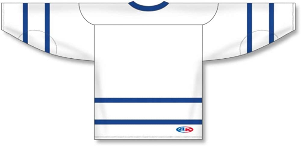 plain white hockey jersey