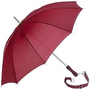 Paraguas bastón con asa bandolera, marrón, Rob McAlister