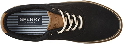 Sperry Top-sider Mens Striper Ll Cvo Fashion Sneaker Black / Tan