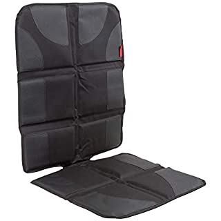Lusso Gear Car Seat Protector with Thickest Padding - Featuring XL Size (Best Coverage Available), Durable, Waterproof 600D Fabric, PVC Leather Reinforced Corners