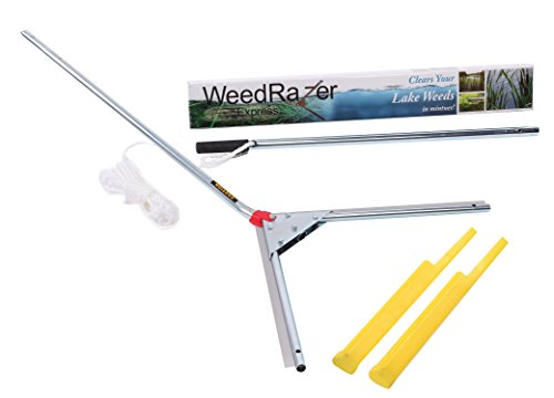 Jenlis Weed Razer Express - Aquatic Weed Cutter for Lakes, Ponds & Beaches by Weed Razer