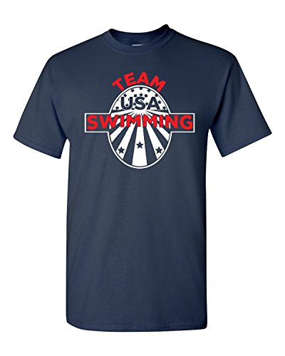 TCamp Swimming Team USA Olympics T-Shirt Youth and Men's Tshirt