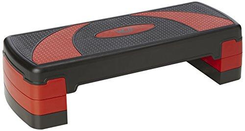 We R Sports YogaFlex Adjustable Aerobic Step Yoga Pilates - Red & Black by We R Sports