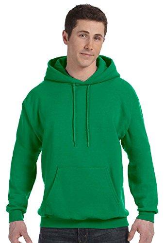 Sudadera con capucha EcoSmart Fleece para hombre de Hanes, Púrpura, 3XL