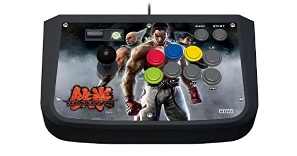 Amazon.com: Hori Tekken 6 Real Arcade Pro EX Fighting Stick for XBox 360 [XBOX 360]: Video Games