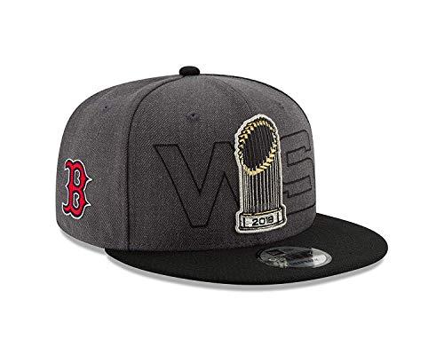 New Era Boston Red Sox 2018 World Series Champions 950 Adjustable Snapback Hat (World Red Sox Champions Series)