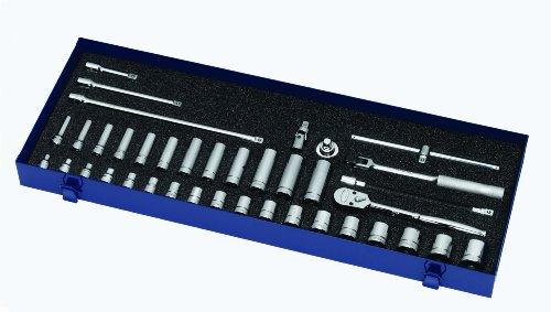 Williams MSB-39F 39-Piece 3/8-Inch Drive Socket and Drive Tool Set
