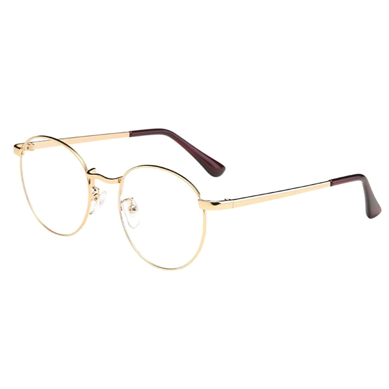 Zhuhaixmy Unisex Klassisch Metall Runden Felge Komfortabel Brille ...