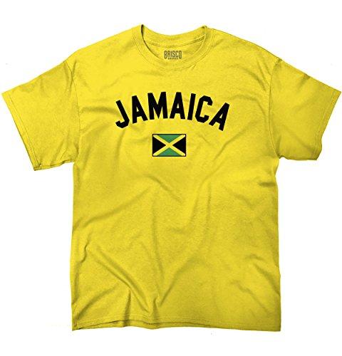 Jamaica Flag World Cup Soccer Jamaican National Flag Pride T-Shirt