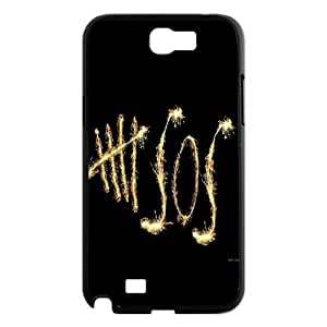 High Quality Phone Case For Samsung Galaxy Note 2 Case -5sos - 5 Second of Summer-LiuWeiTing Store Case 1
