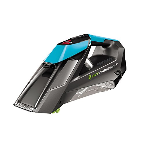 aser Deluxe ION Portable Carpet Cleaner with Extended Runtime and Window Attachment, Teal ()