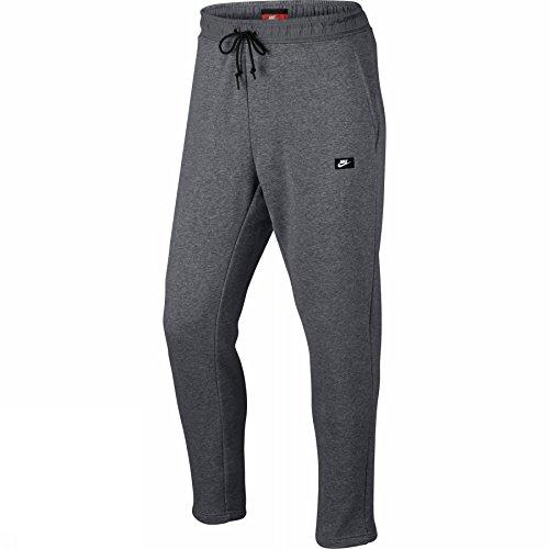 NIKE M NSW Modern Pant FT Mens Athletic-Pants 805168-091_XL - Carbon Heather/Black