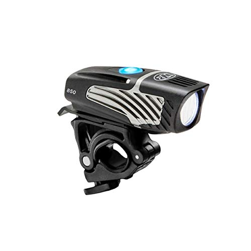 NiteRider Lumina Micro 850 Boost Bike Front Light - 850 Lumens - USB Rechargeable - Water and Dust Resistant