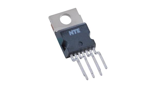Circuito integrado NTE Electronics NTE1788, circuito de salida de desviación vertical de TV, 35 V, 20 W: Amazon.es: Industria, empresas y ciencia