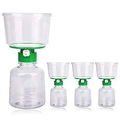 4 X Sterile Disposable Vacuum Bottletop ...