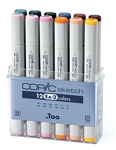 copic markers set d - 9