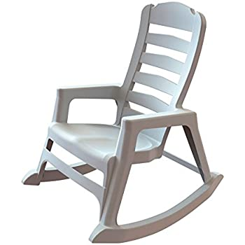 Amazon Com Taupe Outdoor Rocking Chair 600 Lb
